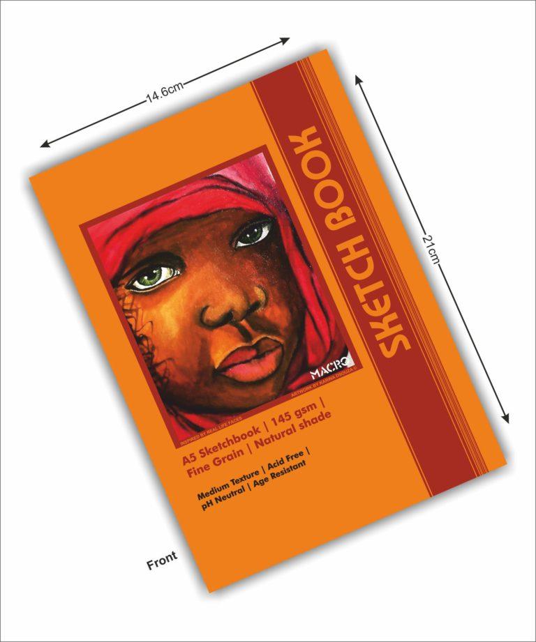 Nomad Girl A5 tearable Sketchbook