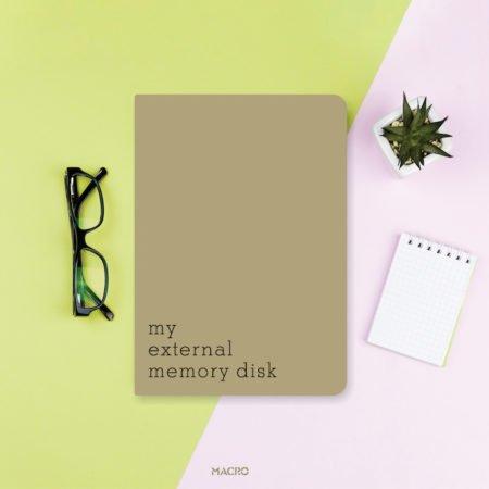 External Memory Notebook