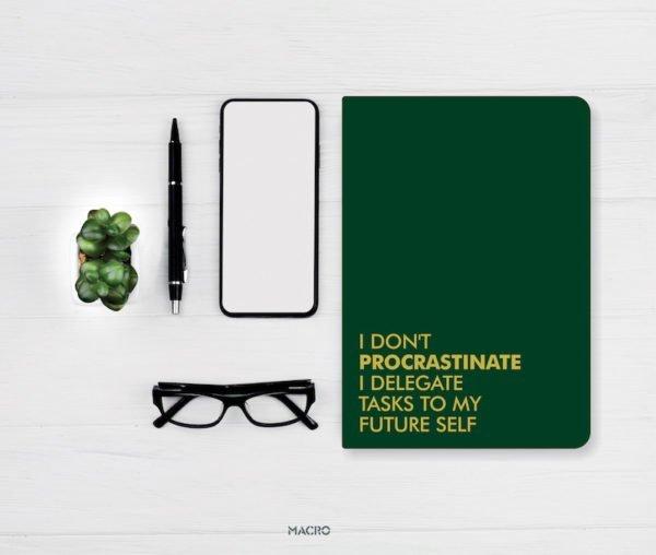 Procrastinate Notebook