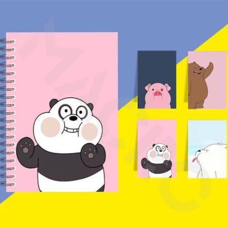 Pink Panda Gift set